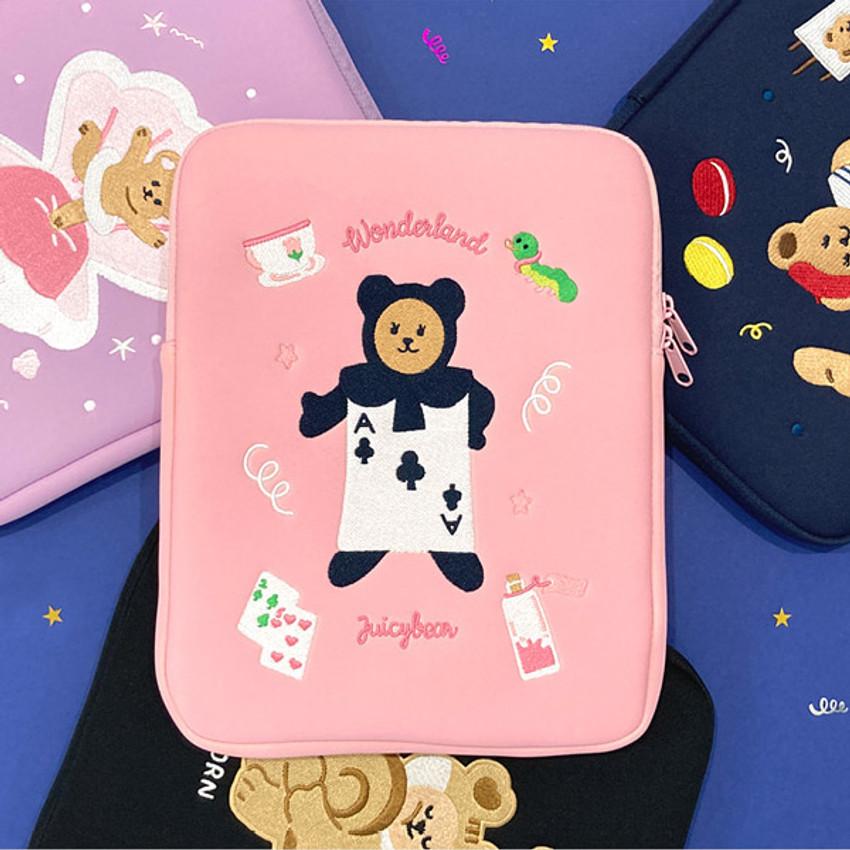 Juicy bear iPad pro tablet PC 11-inch sleeve case