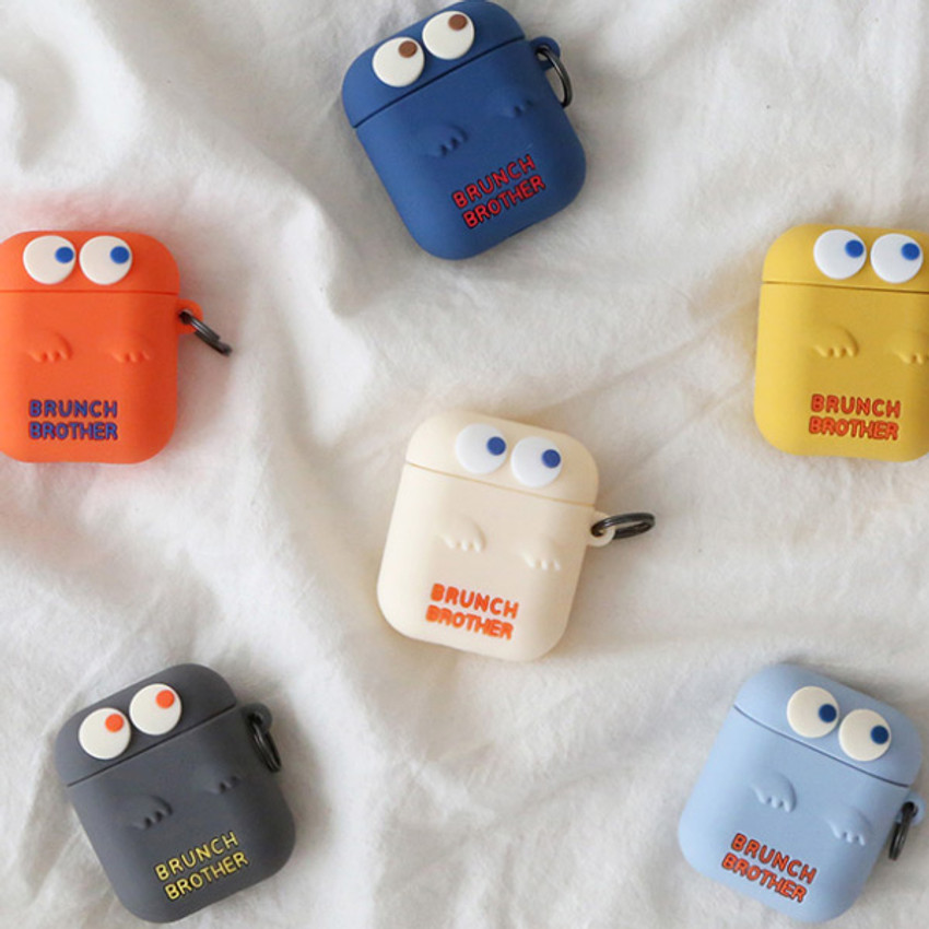 ROMANE Brunch Brother Ghost Airpods silicon cover