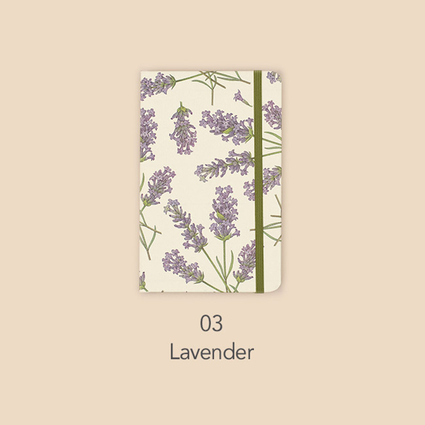 Lavender - Paperian Florence small undated daily diary journal