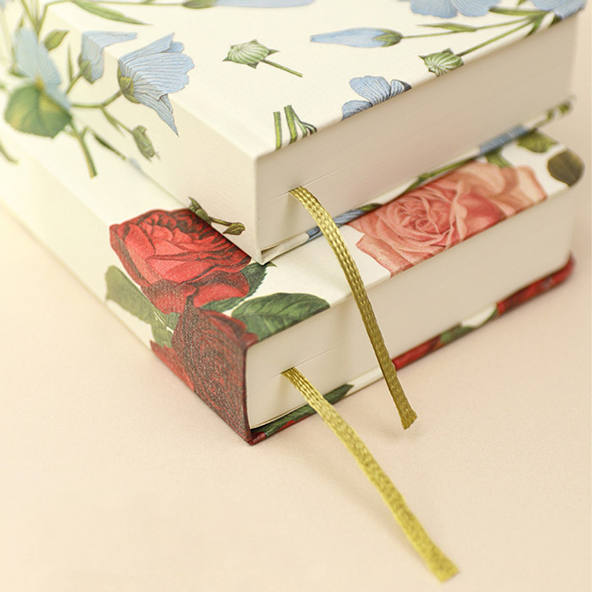 Ribbon bookmark - Paperian Florence small undated daily diary journal