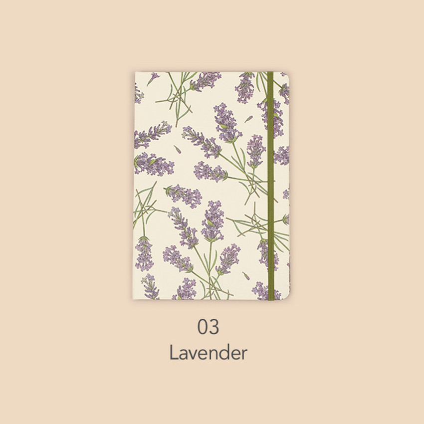 Lavender - Paperian Florence large undated daily diary journal