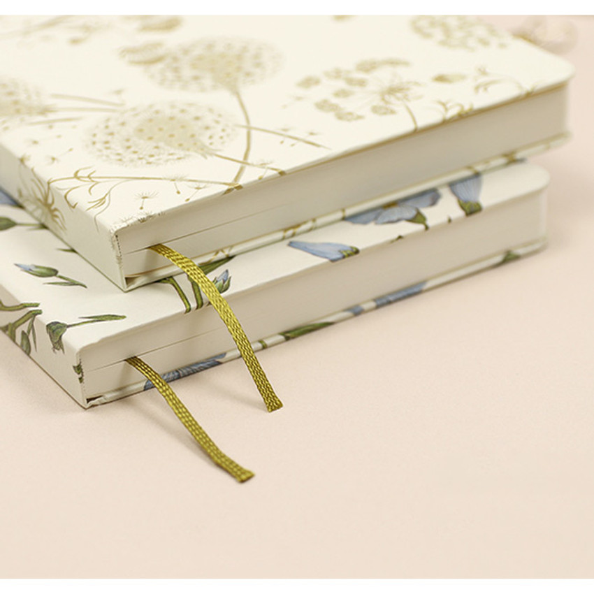 Ribbon bookmark - Paperian Florence large undated daily diary journal