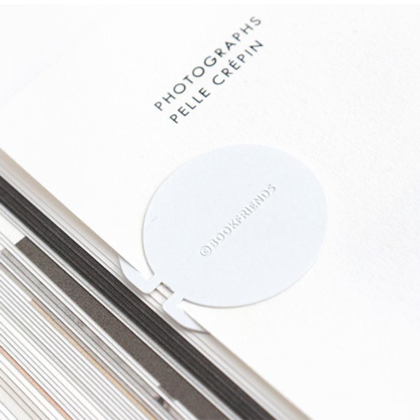 Back - Bookfriends World literature point steel bookmark