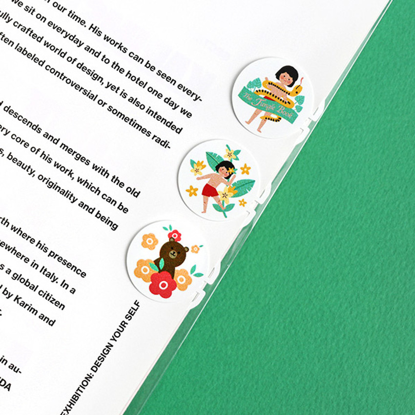 The jungle book - Bookfriends World literature point steel bookmark