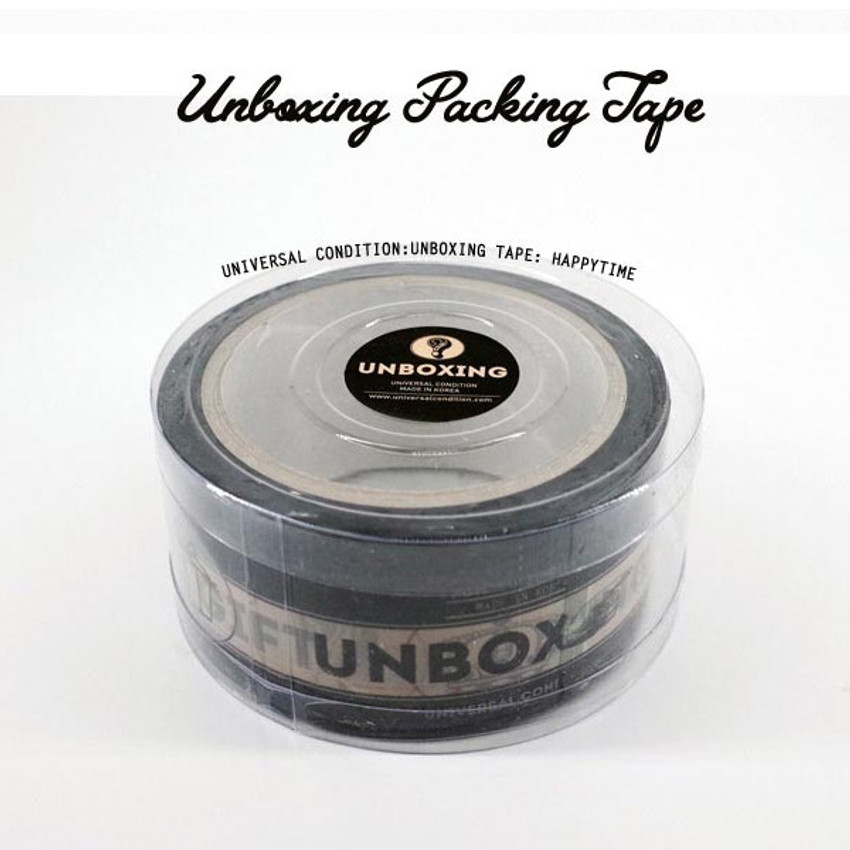 UNIVERSAL CONDITION Unboxing packing tape