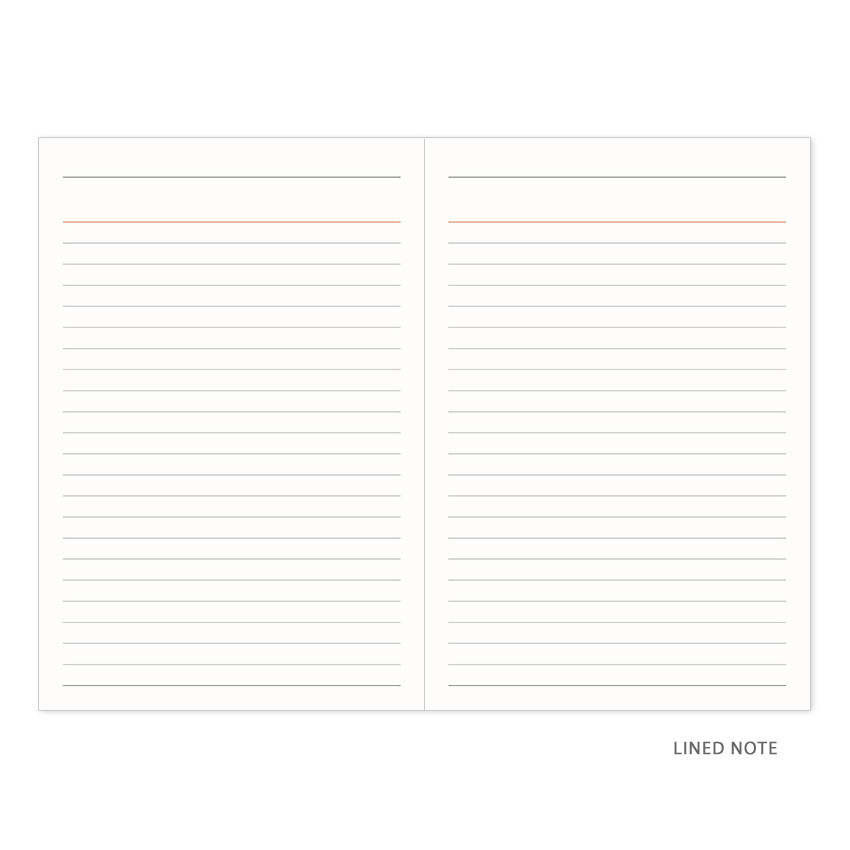 Lined note - Indigo 2021 Official small dated monthly planner scheduler