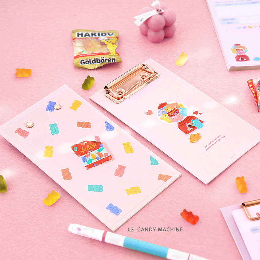 03 Candy Machine  - ICONIC Merry clipboard memo holder