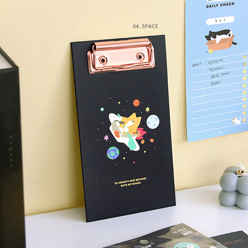 04 Space  - ICONIC Merry clipboard memo holder