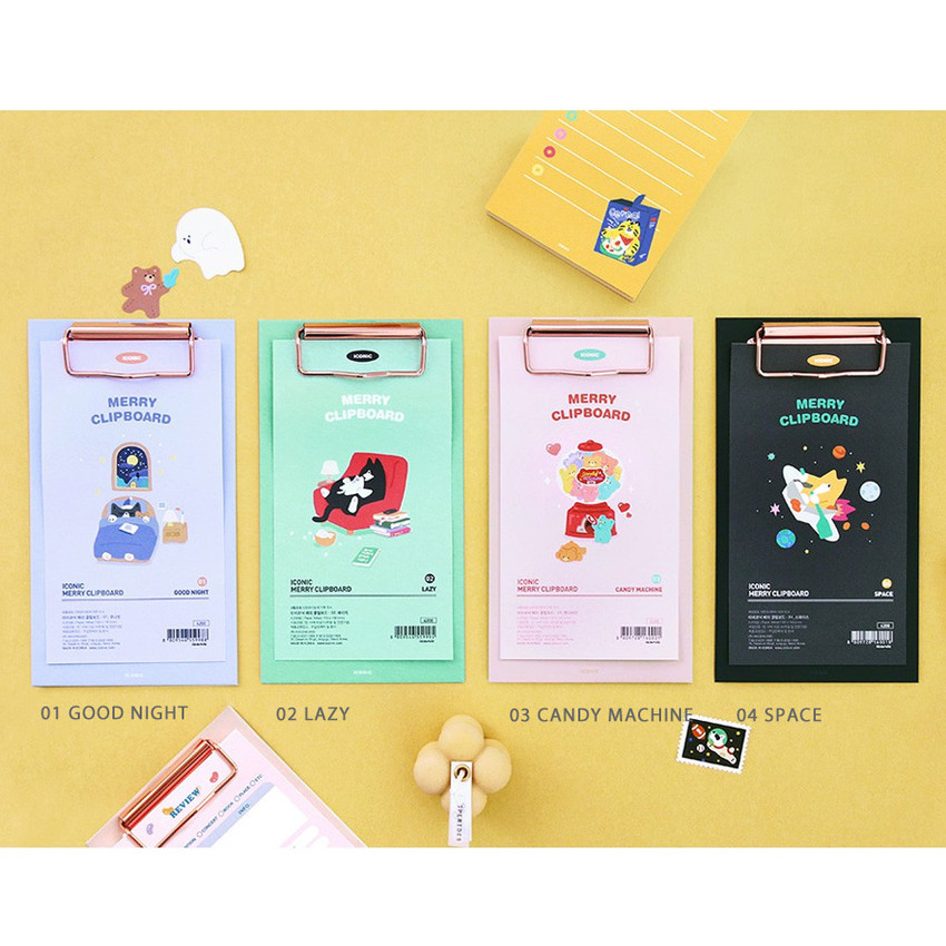Option - ICONIC Merry clipboard memo holder