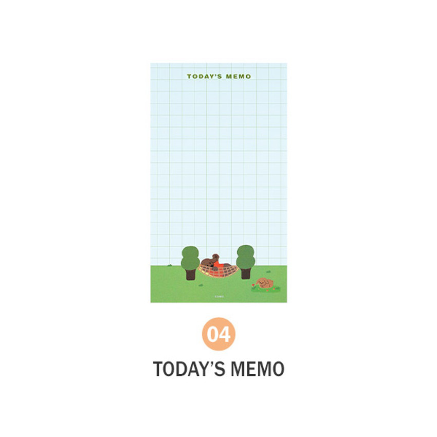 04 Today's Memo - ICONIC Merry memo checklist planner notepads