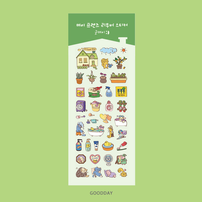 Goodday - Ardium Day friends removable sticker