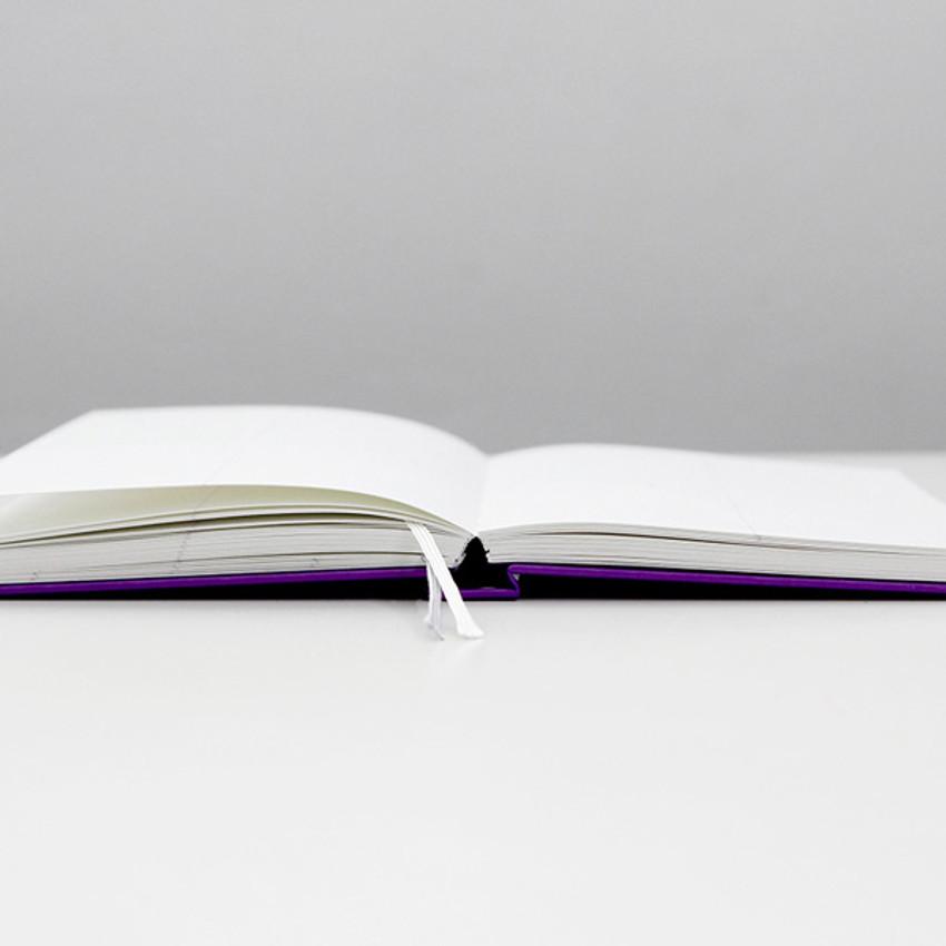 Opens flat - GMZ Brilliant dateless weekly planner scheduler