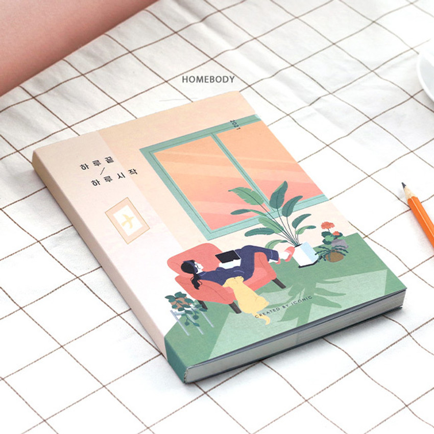 Homebody - Iconic 2021 End-And dated weekly diary planner