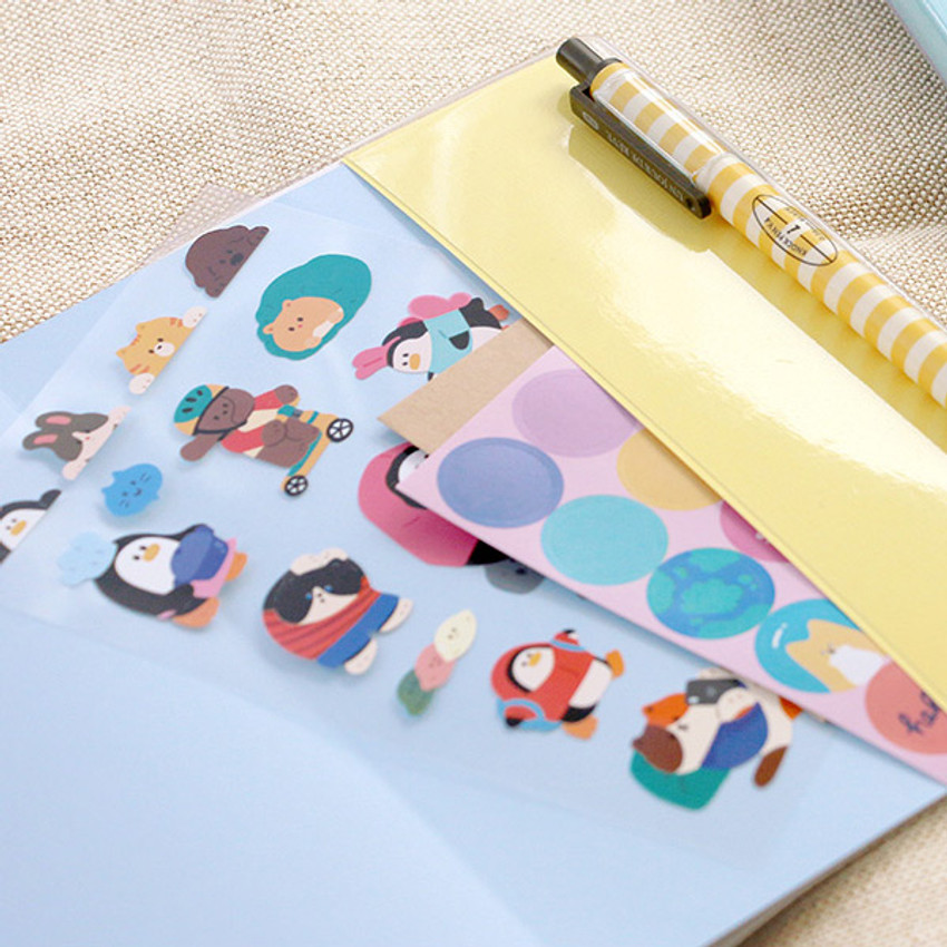 PVC cover - ICONIC 2021 Witty dated weekly diary planner