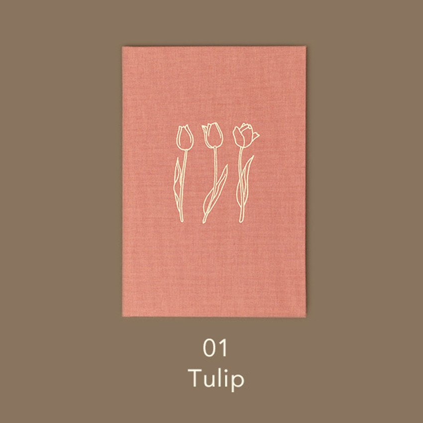 Tulip - Paperian Essay drawing dateless weekly diary planner