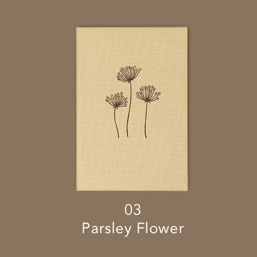 Parsley Flower - Paperian Essay drawing dateless weekly diary planner
