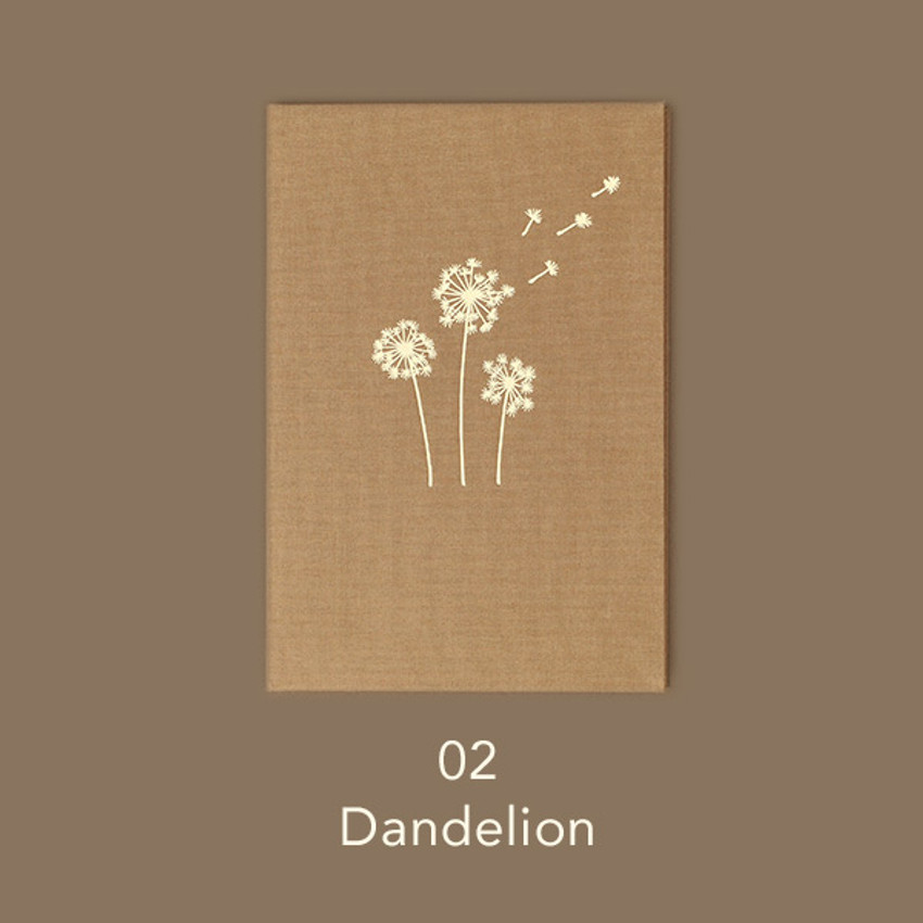 Dandelion - Paperian Essay drawing dateless weekly diary planner