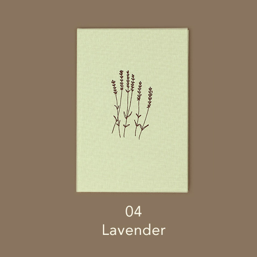 Lavender  -Paperian Essay drawing dateless weekly diary planner