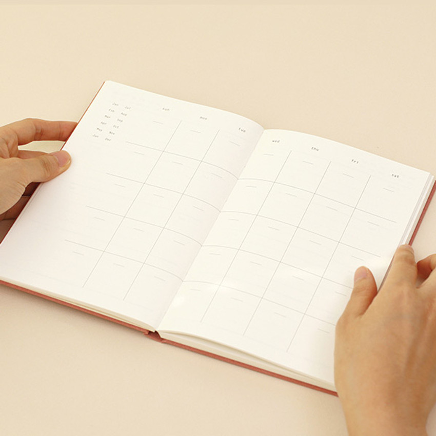 Monthly plan - Paperian Essay drawing dateless weekly diary planner