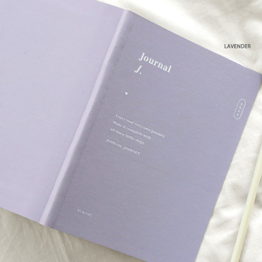 Lavender - ICONIC 2021 Journal Journey dated weekly diary planner