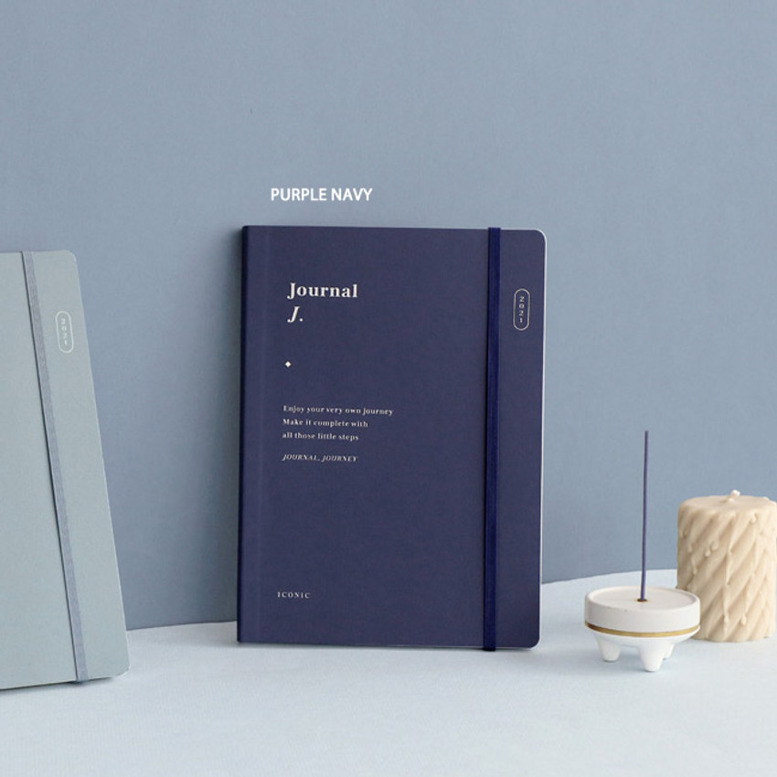 Purple Navy - ICONIC 2021 Journal Journey dated weekly diary planner