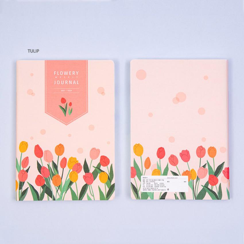 Tulip - Ardium 2021 Flower dated weekly diary planner