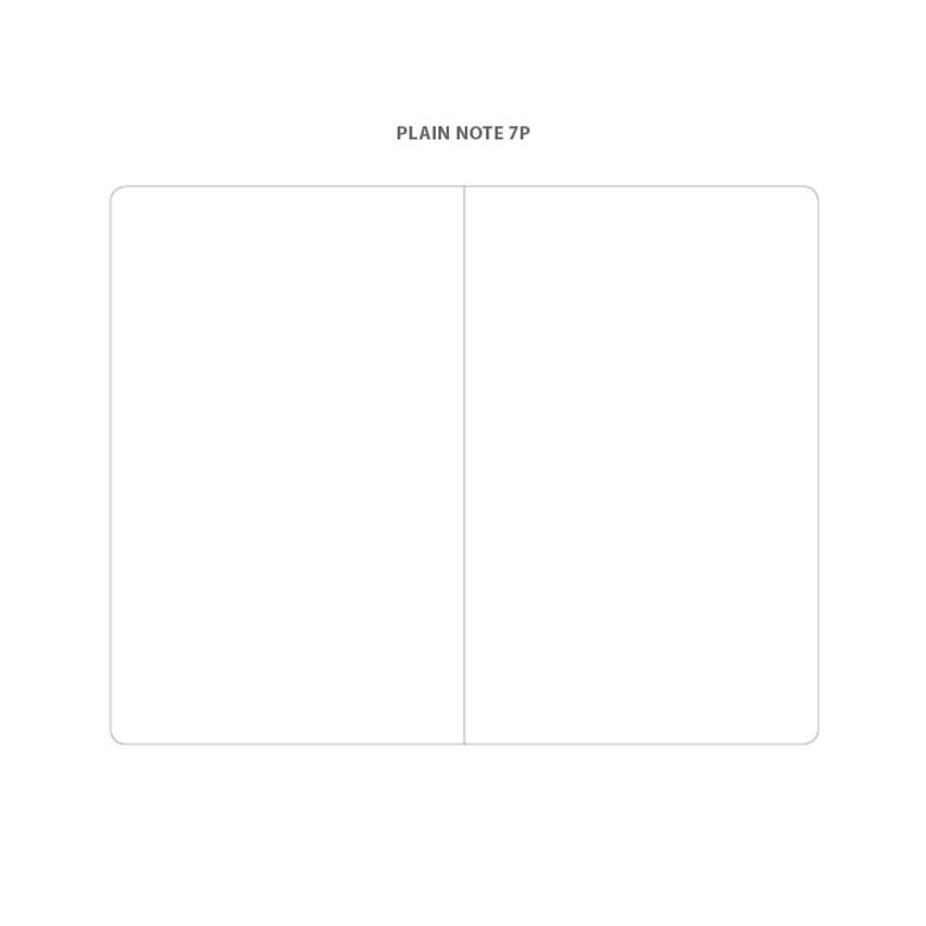 Plain note - 2021 Notable memory medium dated weekly planner