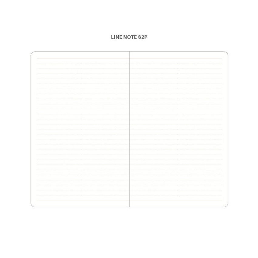 Lined note - 2021 Notable memory medium dated weekly planner