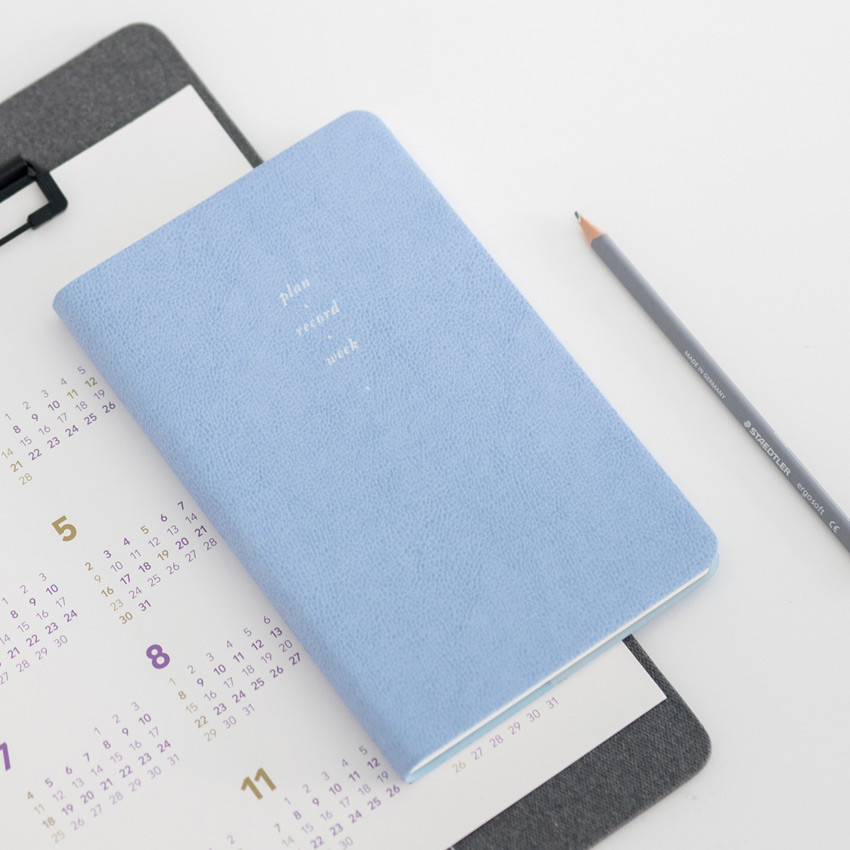 Cotton blue - 2021 Notable memory medium dated weekly planner