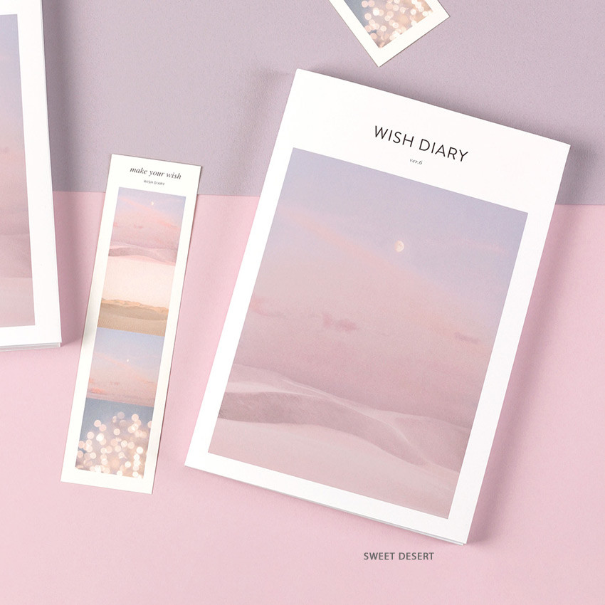 Sweet desert - Dash And Dot 2021 Wish dated weekly diary planner ver6