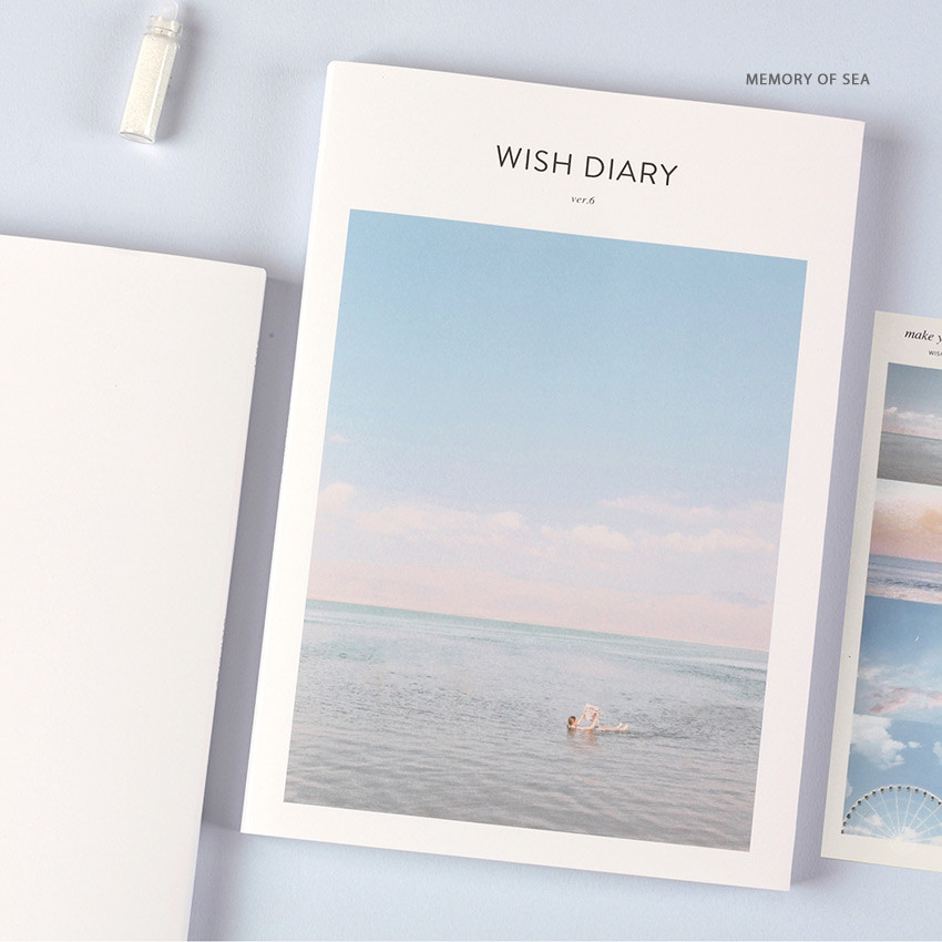 Memory of sea - Dash And Dot 2021 Wish dated weekly diary planner ver6