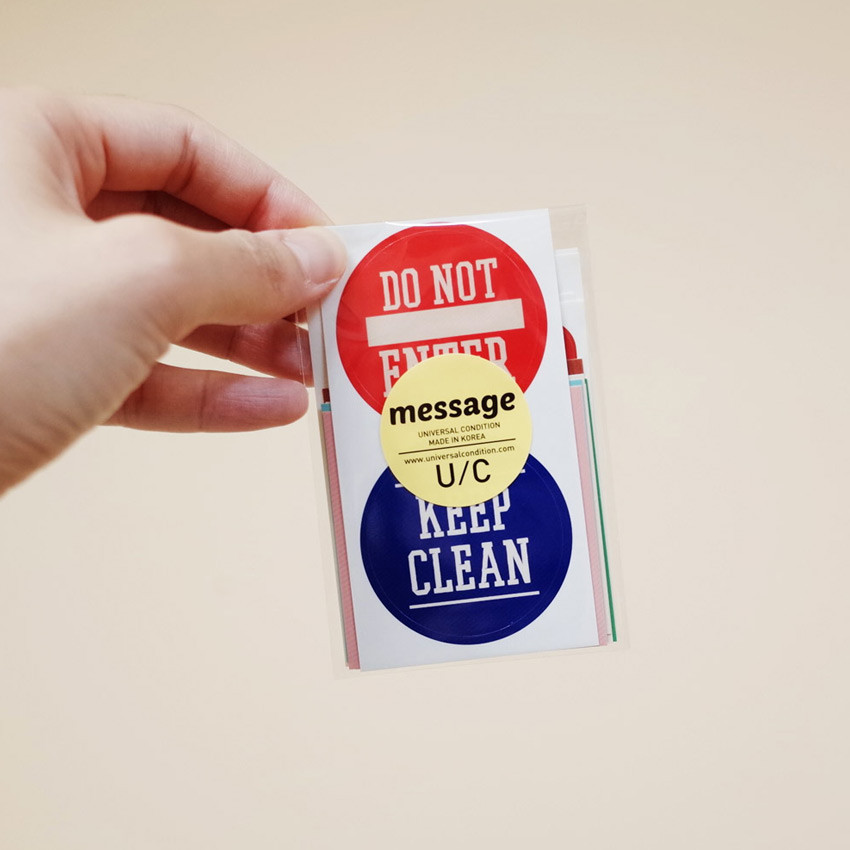 Package - UNIVERSAL CONDITION Decorative message sticker set