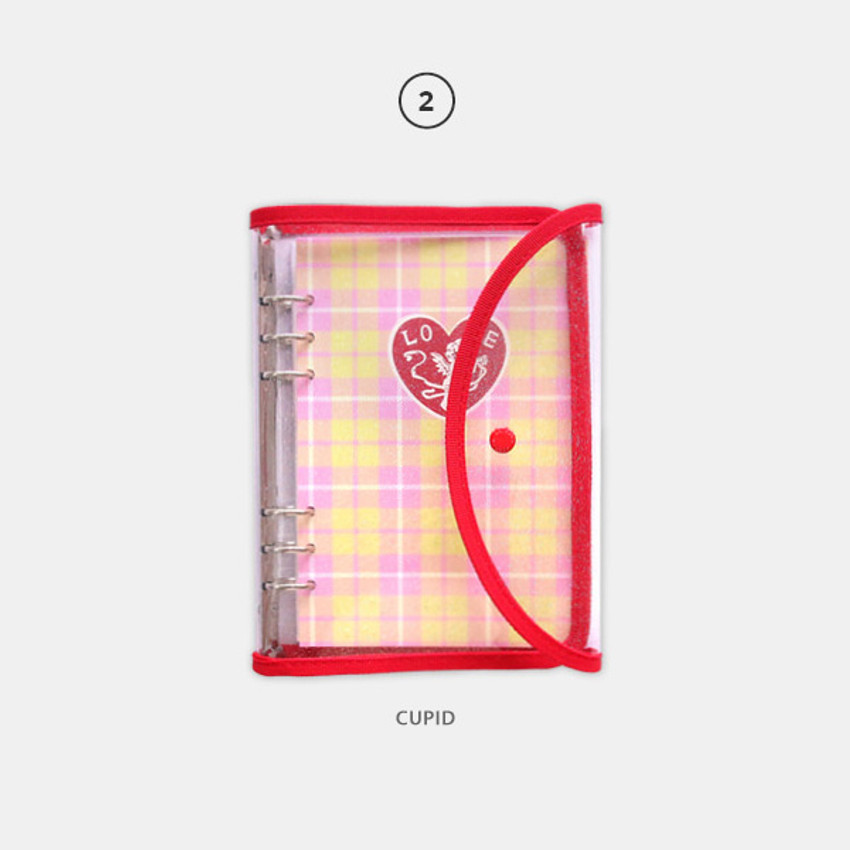 02 Cupid - Second Mansion Retro 6-ring A5 undated weekly planner