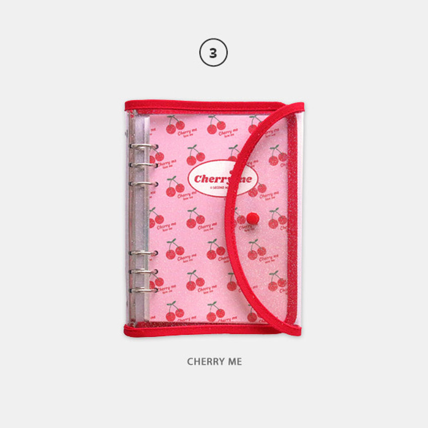 03 Cherry me - Second Mansion Retro 6-ring A5 undated weekly planner