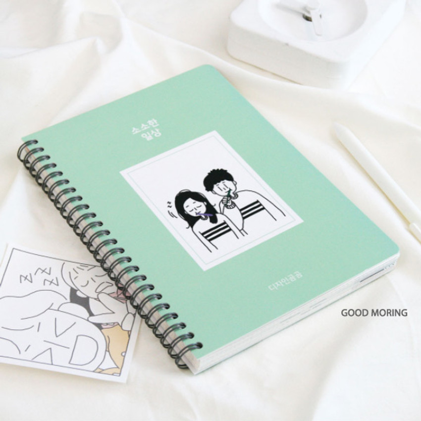 Good morning - DESIGN GOMGOM 2021 Common days dated weekly diary planner