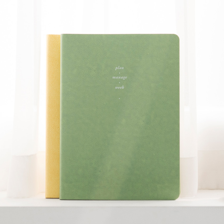 Retro mint - 2021 Notable memory slim B5 dated weekly planner