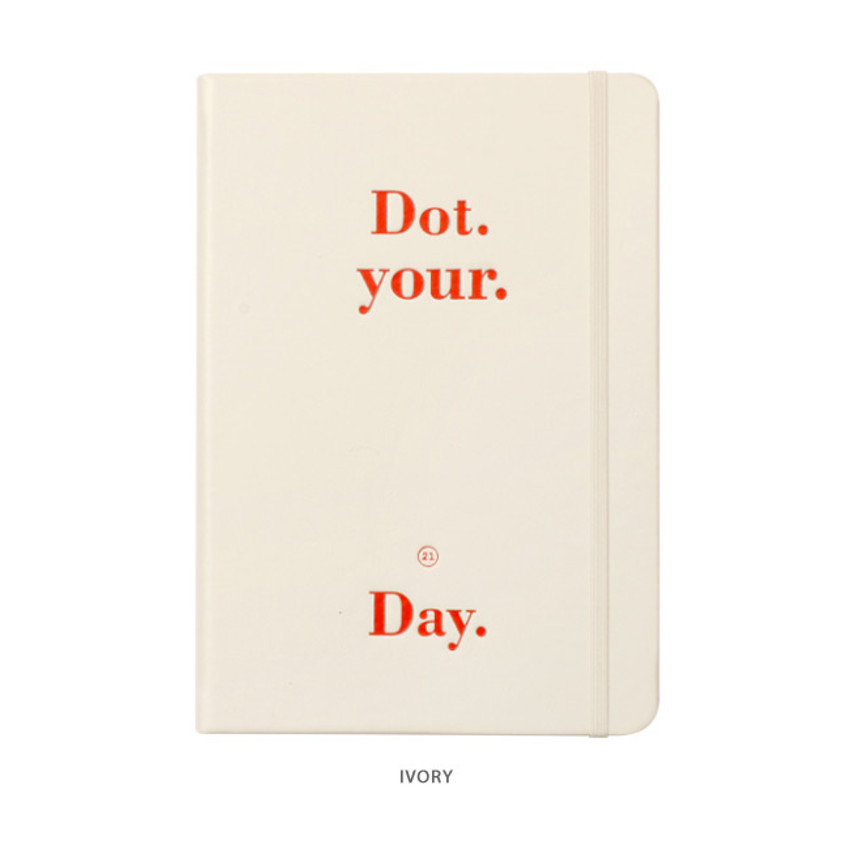 Ivory - After The Rain 2021 Dot your day dated weekly diary planner