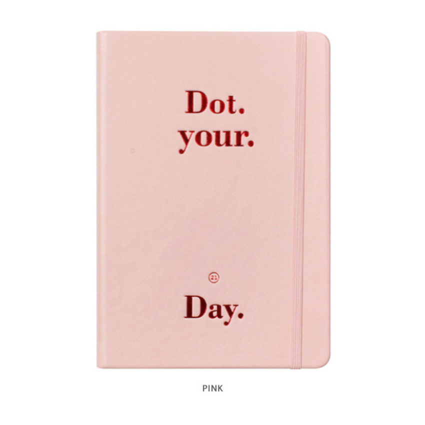 Pink - After The Rain 2021 Dot your day dated weekly diary planner