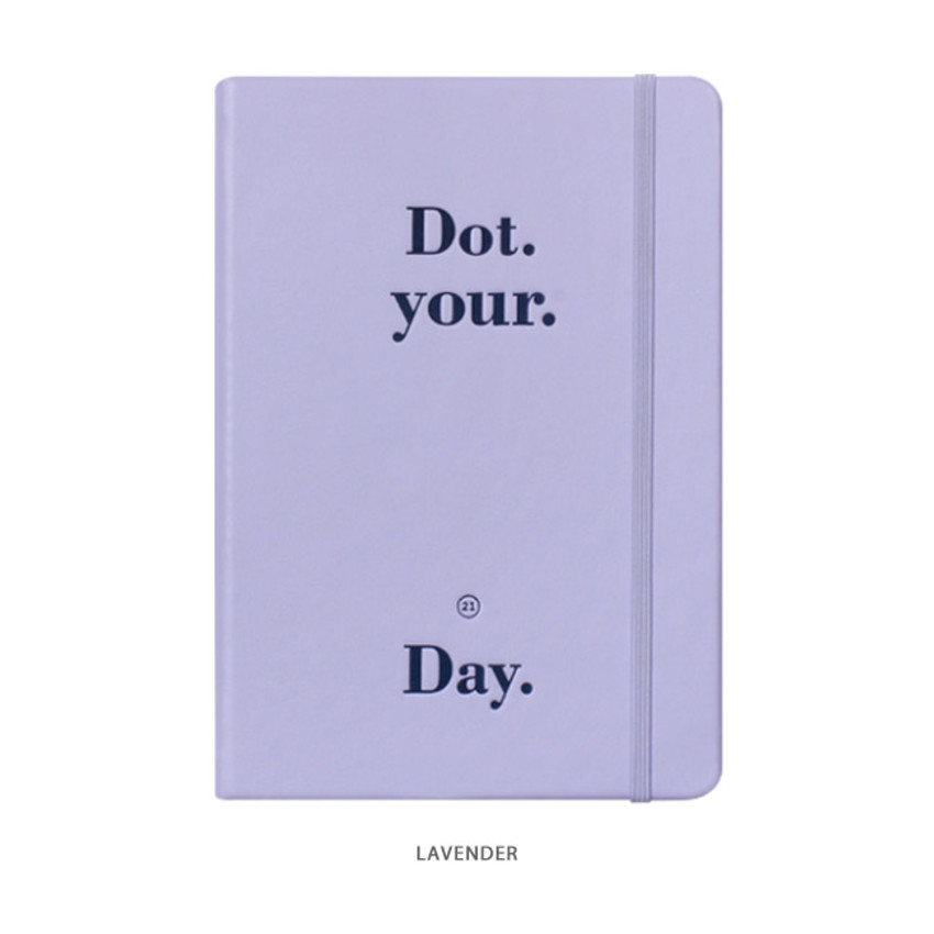 Lavender - After The Rain 2021 Dot your day dated weekly diary planner