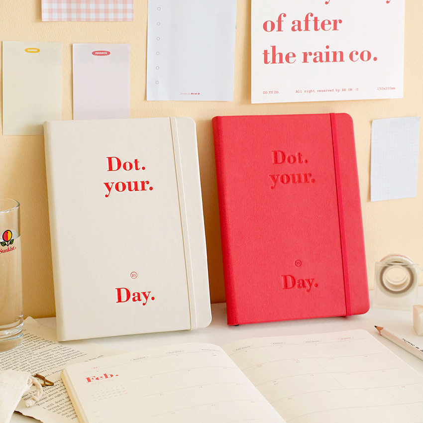 After The Rain 2021 Dot your day dated weekly diary planner