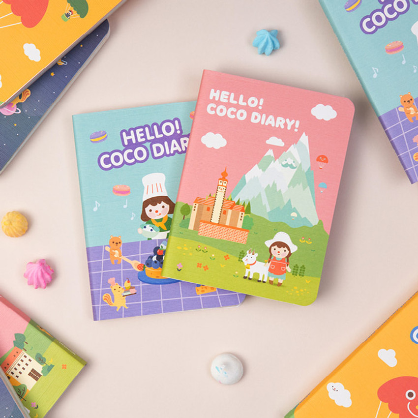 Ardium 2021 Hello coco dated monthly diary planner