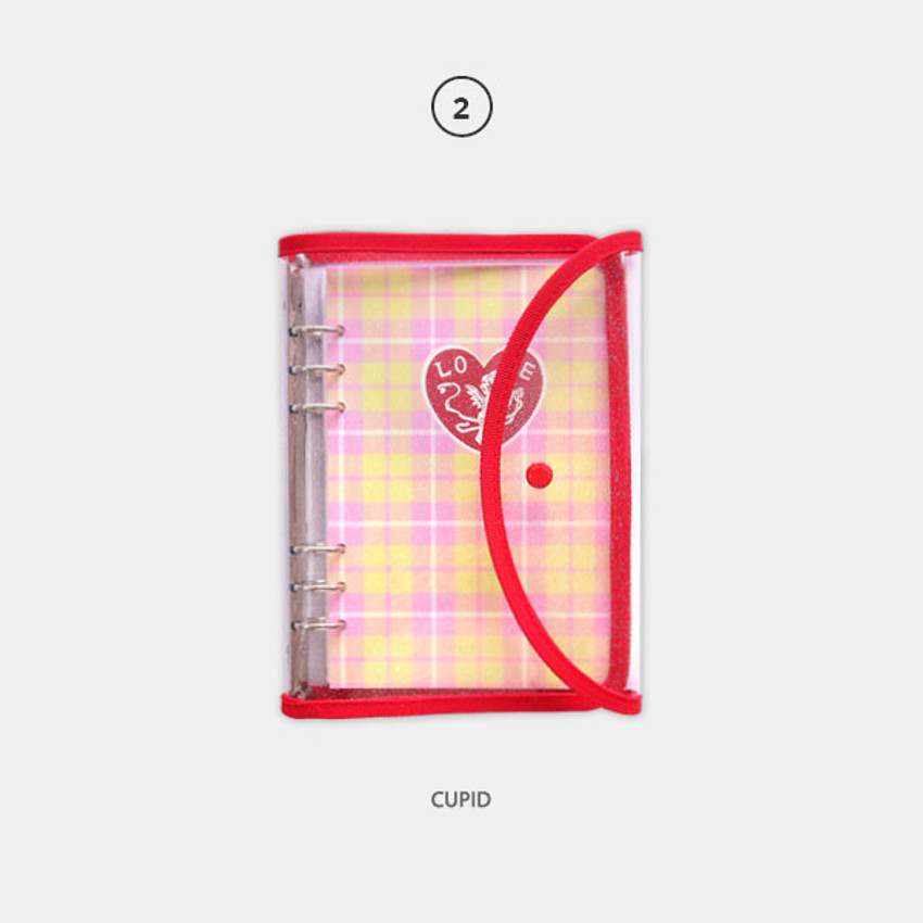 Cupid - Second Mansion Retro 6-ring A6 undated weekly planner