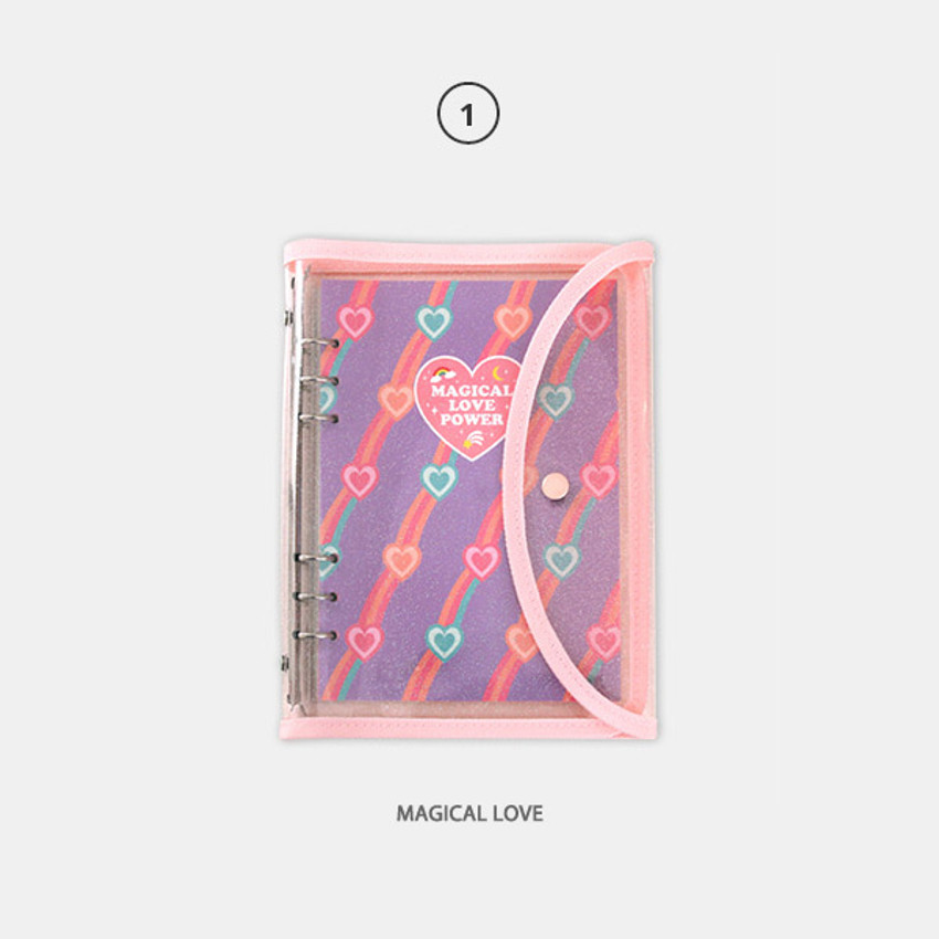 Magical love - Second Mansion Retro 6-ring A6 undated weekly planner