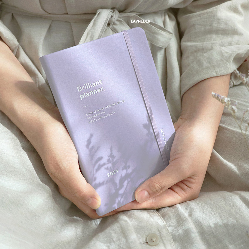 Lavender - ICONIC 2021 Brilliant dated daily diary planner