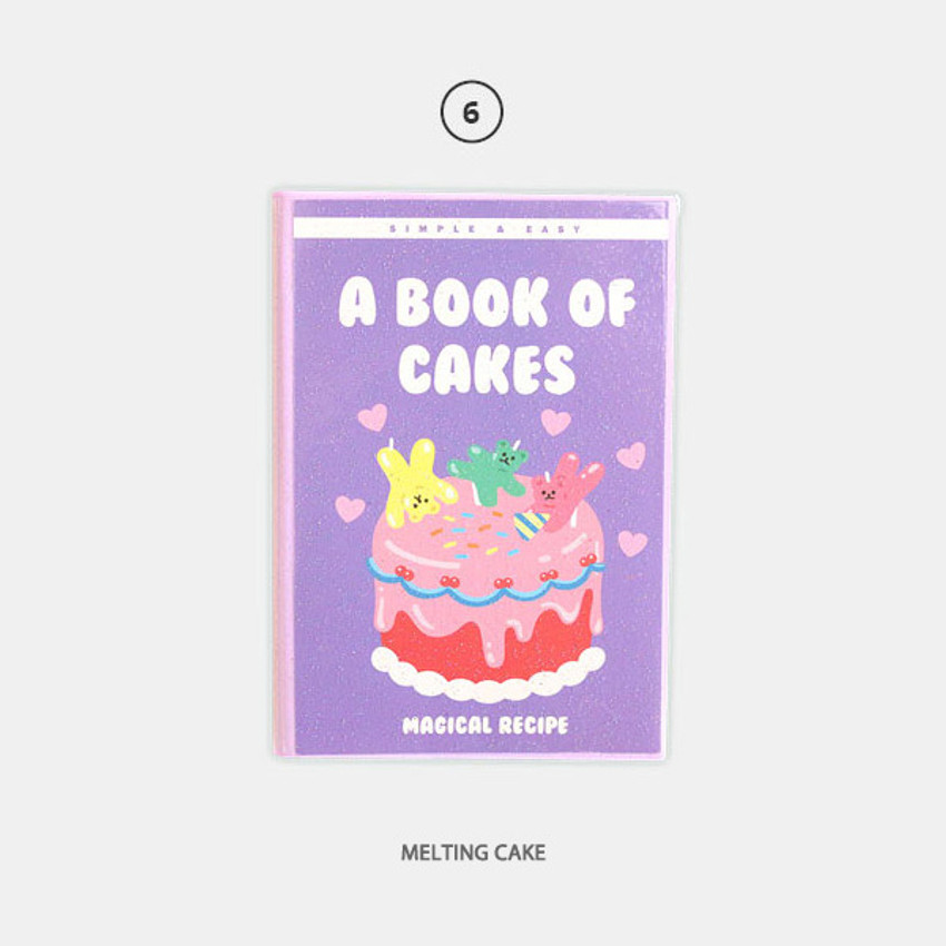 Melting cake - Second Mansion Cool kids dateless weekly diary planner