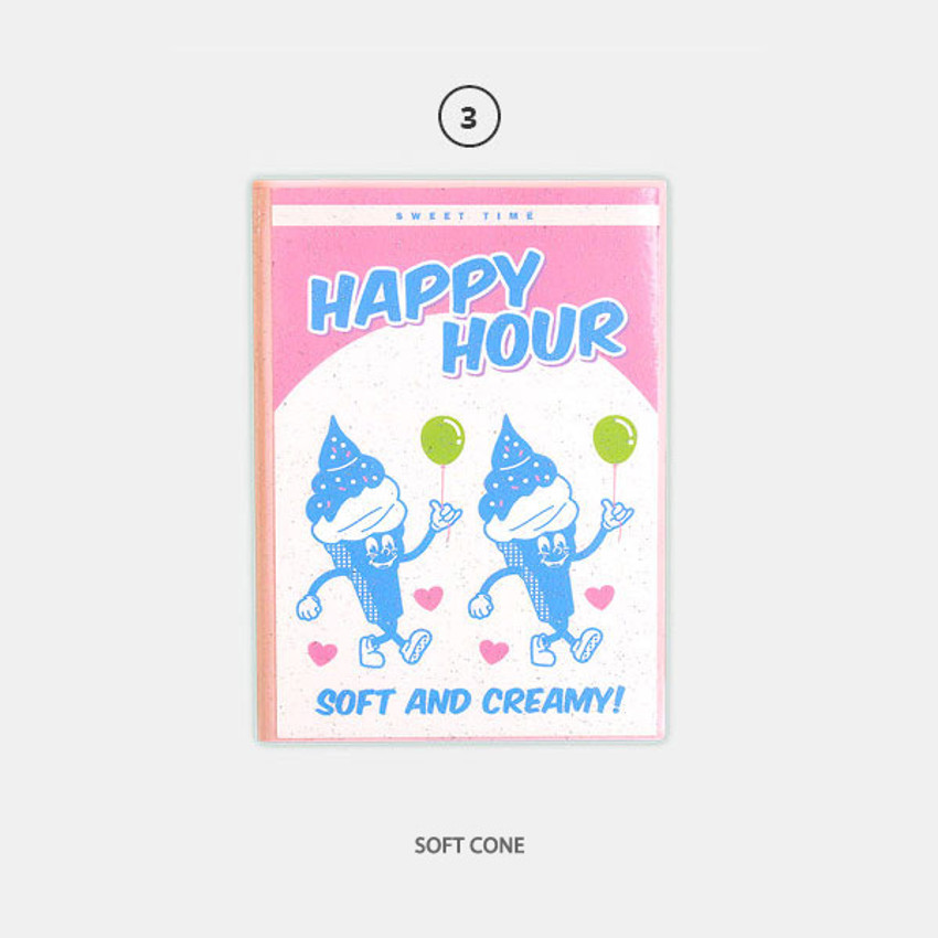 Soft Cone - Second Mansion Cool kids dateless weekly diary planner