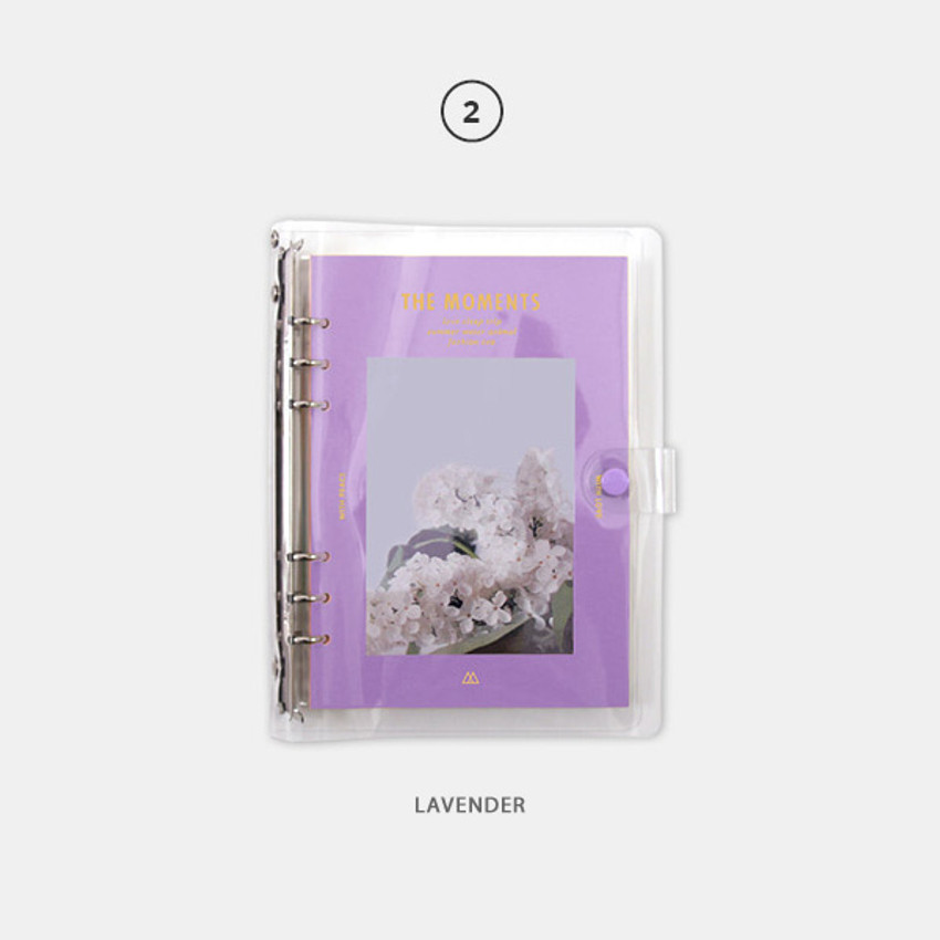 Lavender - Second Mansion Moment A5 6-ring undated weekly diary planner