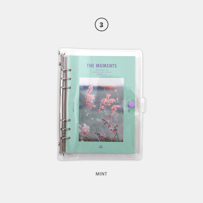 Mint - Second Mansion Moment A5 6-ring undated weekly diary planner