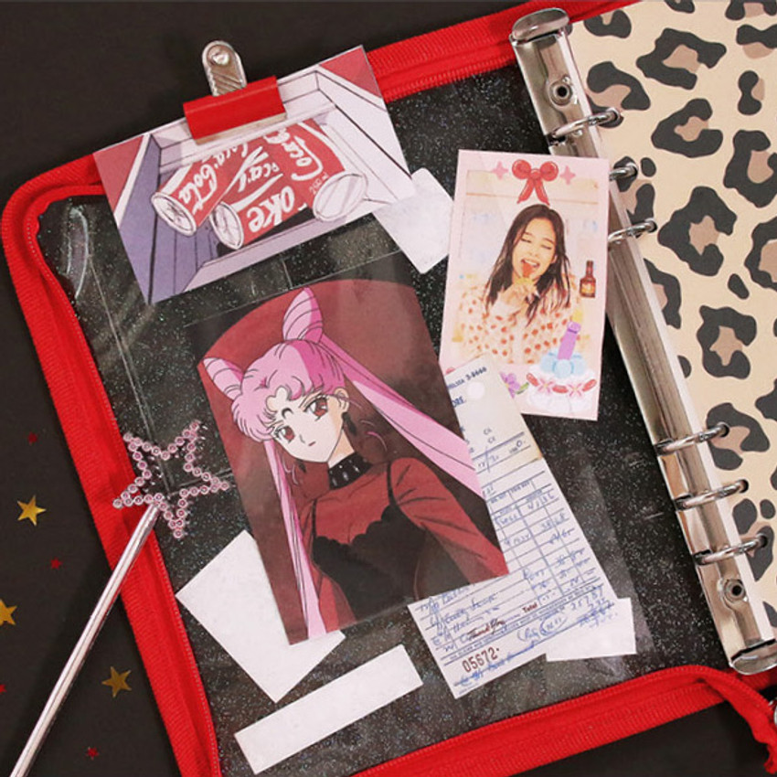 Inner pocket - Second Mansion Highteen A5 6-ring dateless weekly diary