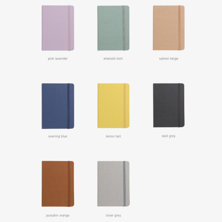 Colors of 2021 Making memory small dated daily planner